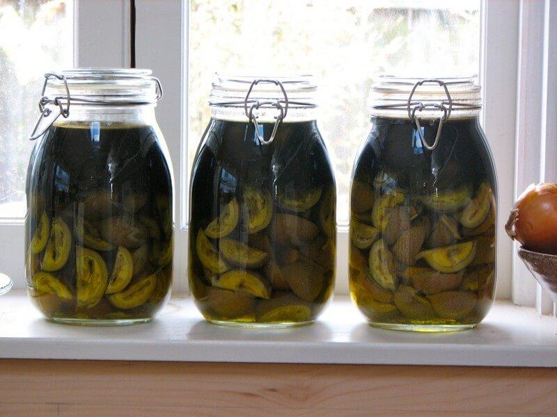 Как сделать настойку из керосина и орехов