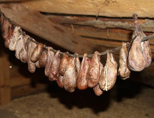процесс сушки мешочков бобровой струи